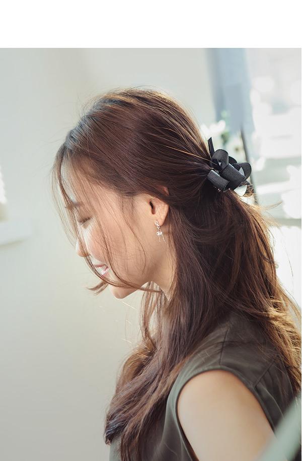 [ 4xtyle ] [SILVER] GLORIA EARRING