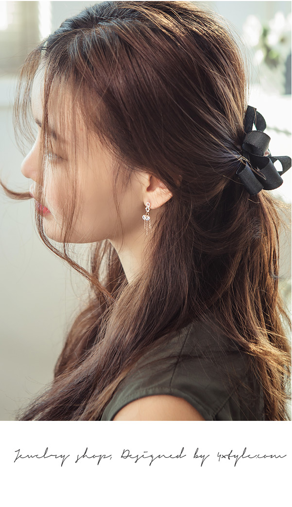 [ 4xtyle ] [银] GLORIA 耳环