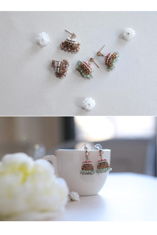 [ 4xtyle ] [手工制作][银]珍珠手链