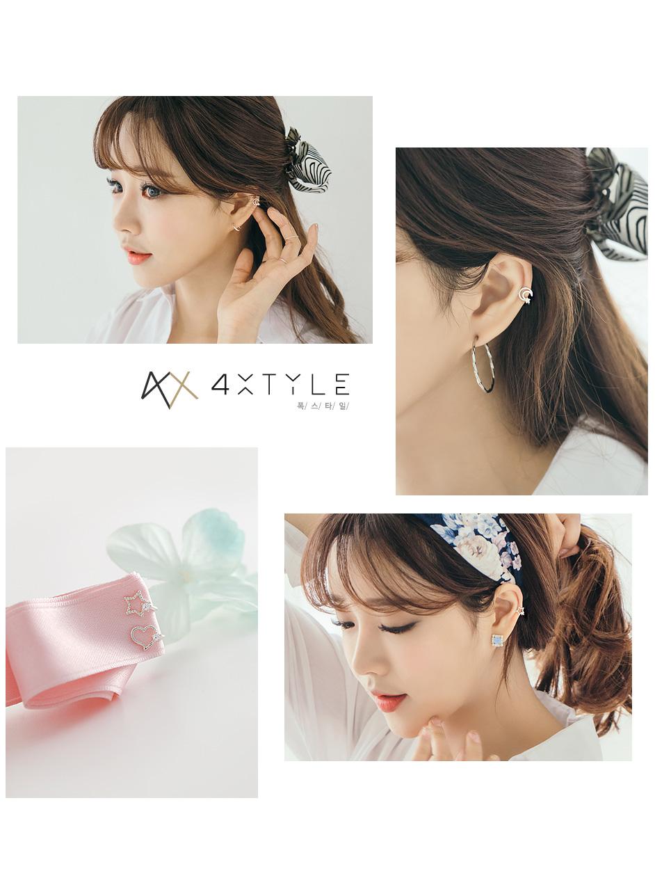 [ 4xtyle ] [银]甜蜜的记忆耳