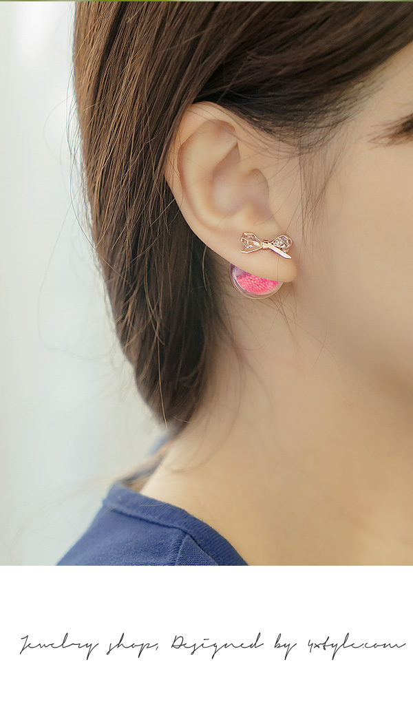 [ 4xtyle ] MANON WATER BALL EARRING