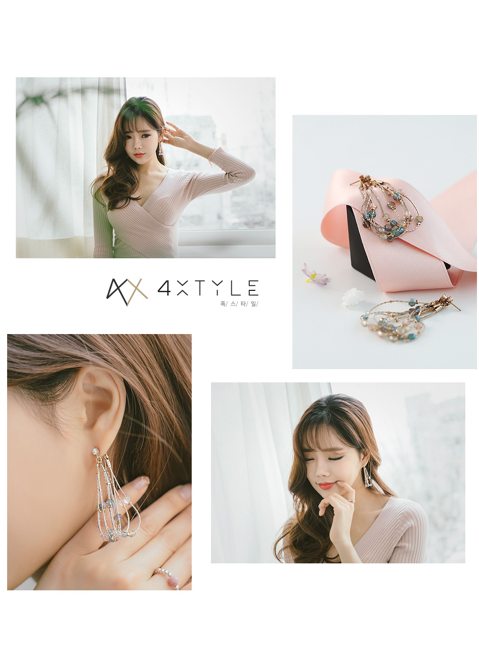 [ 4xtyle ] [手工制作]名叫萨布里娜的耳环