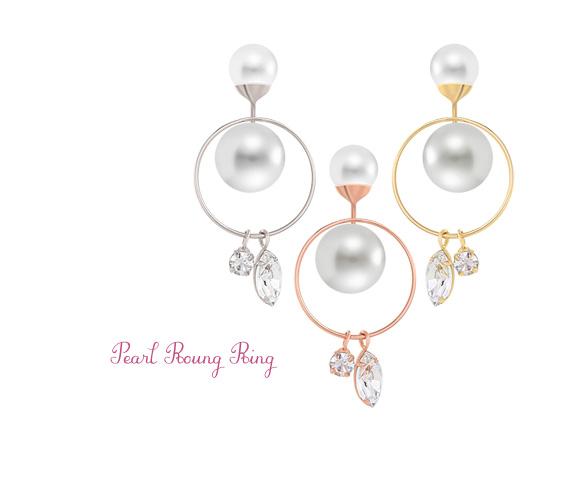 [ 4xtyle ] [银]珍珠耳环的犖酝夤驹诙酚