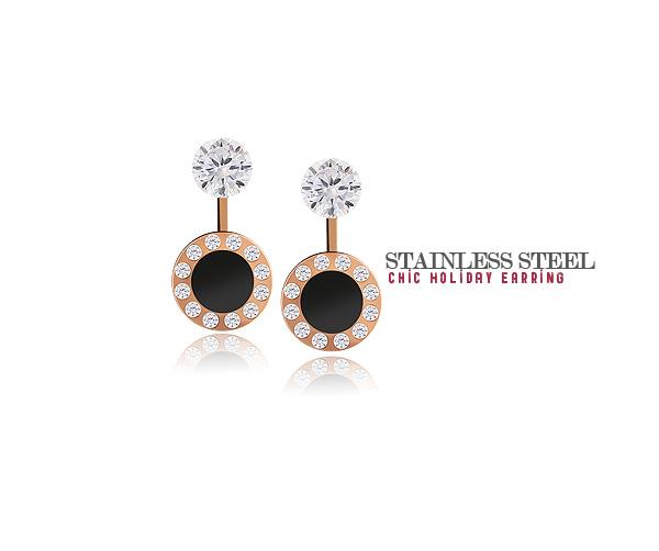 [ 4xtyle ] [不锈钢]别致的假日耳环