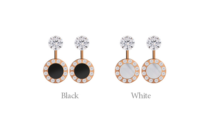 [ 4xtyle ] [STAINLESS STEEL] CHIC HOLIDAY EARRING