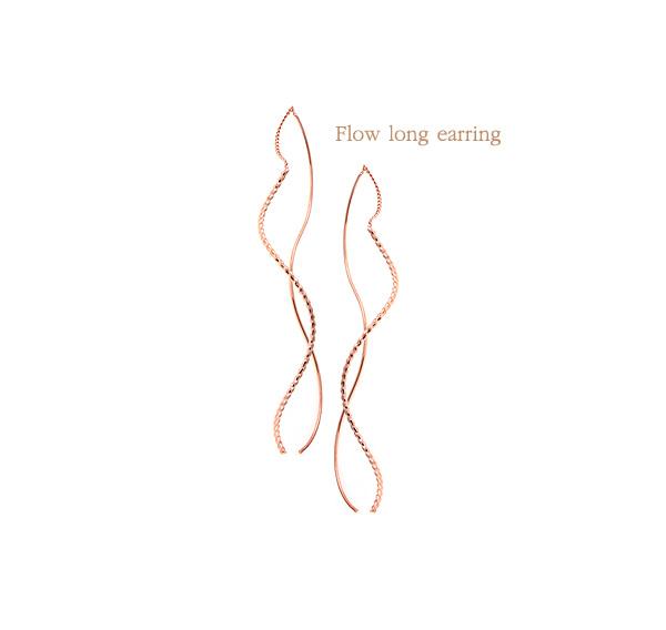 [ 4xtyle ] [4xstyle]flow long earring