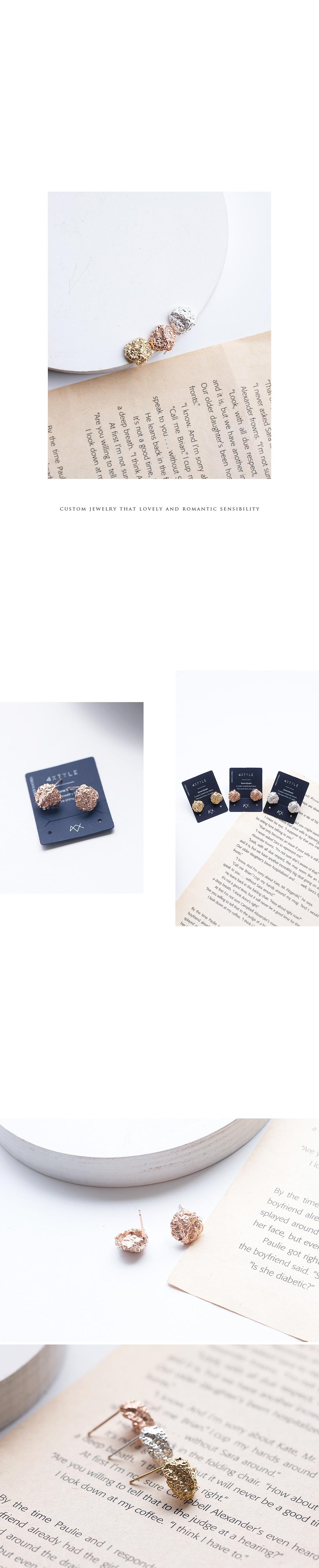 [실버] 미끄마끄 귀걸이 - 폭스타일, 19,000원, 실버, 드롭귀걸이