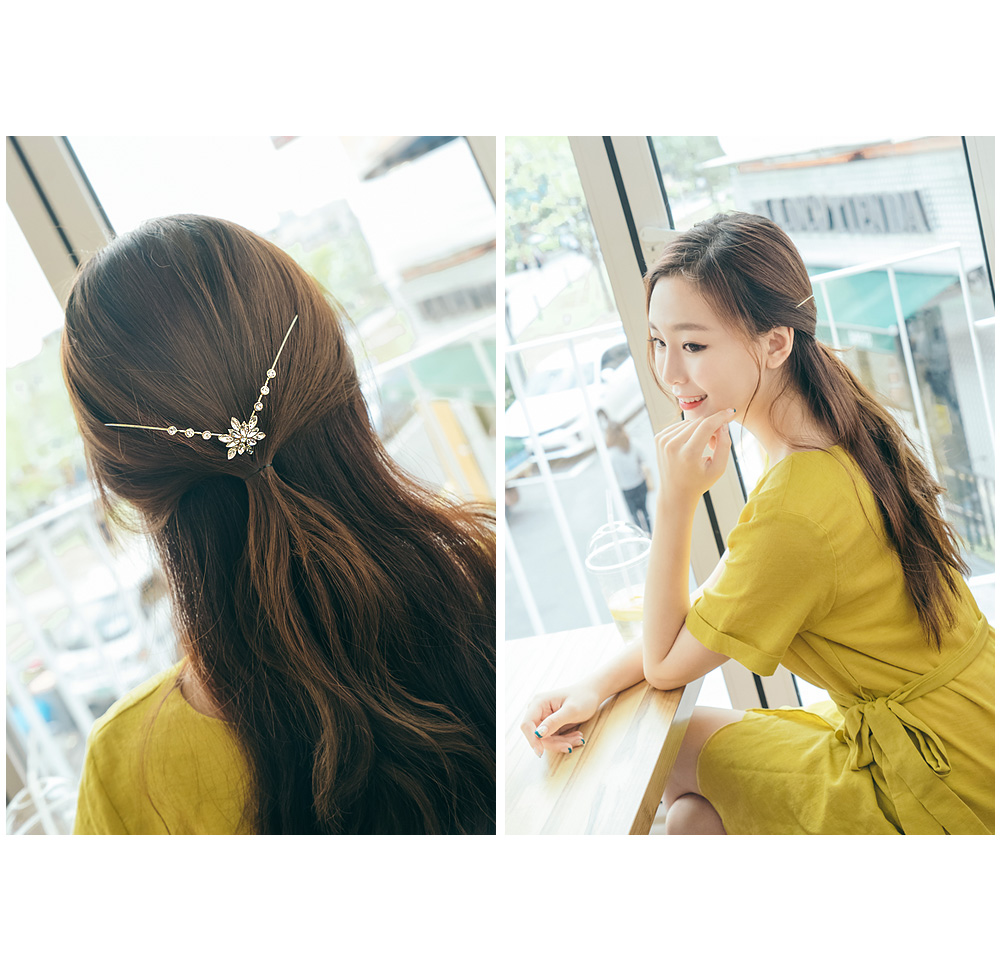 [ 4xtyle ] elf back decorations headband (Star/Pearl)