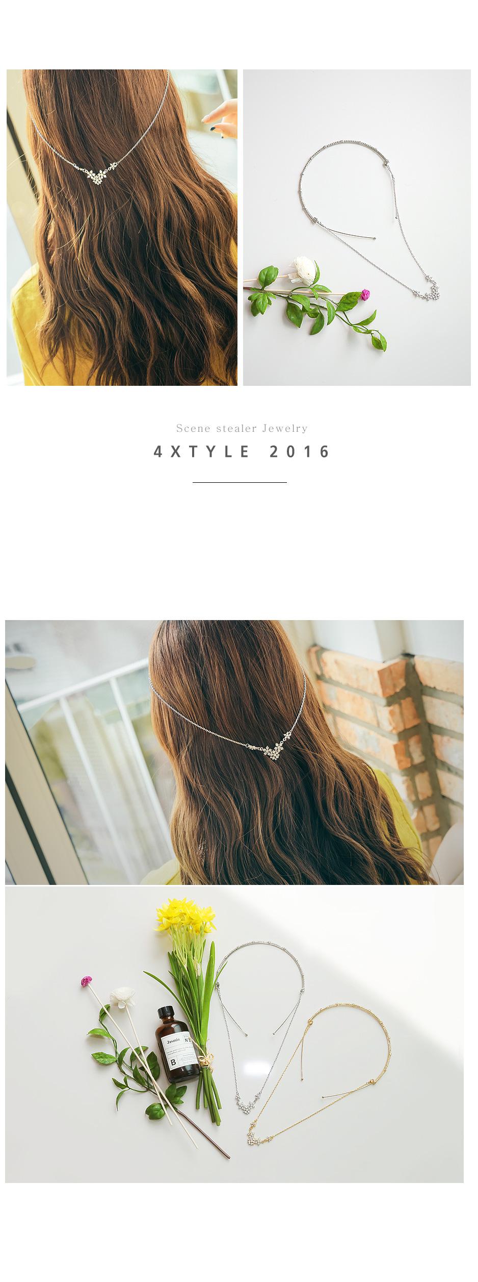 [ 4xtyle ] Sugar cubic back headband