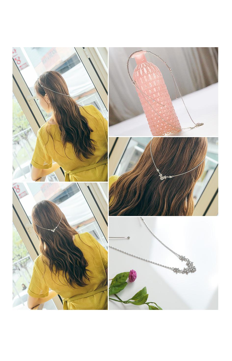 [ 4xtyle ] 슈가 立方 뒷장식 的头带