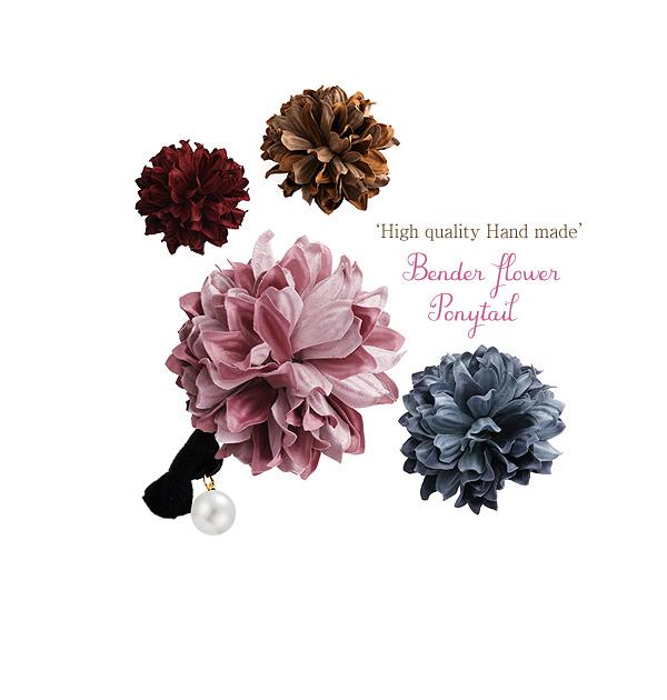 [ 4xtyle ] [4xstyle][handmade] bender flower ponytail