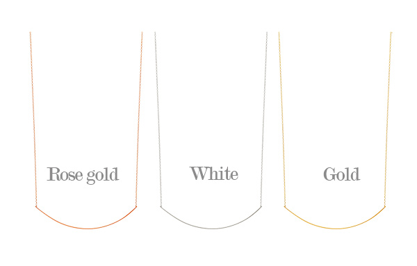[ 4xtyle ] By Slim Silver Necklace, 3 Colors