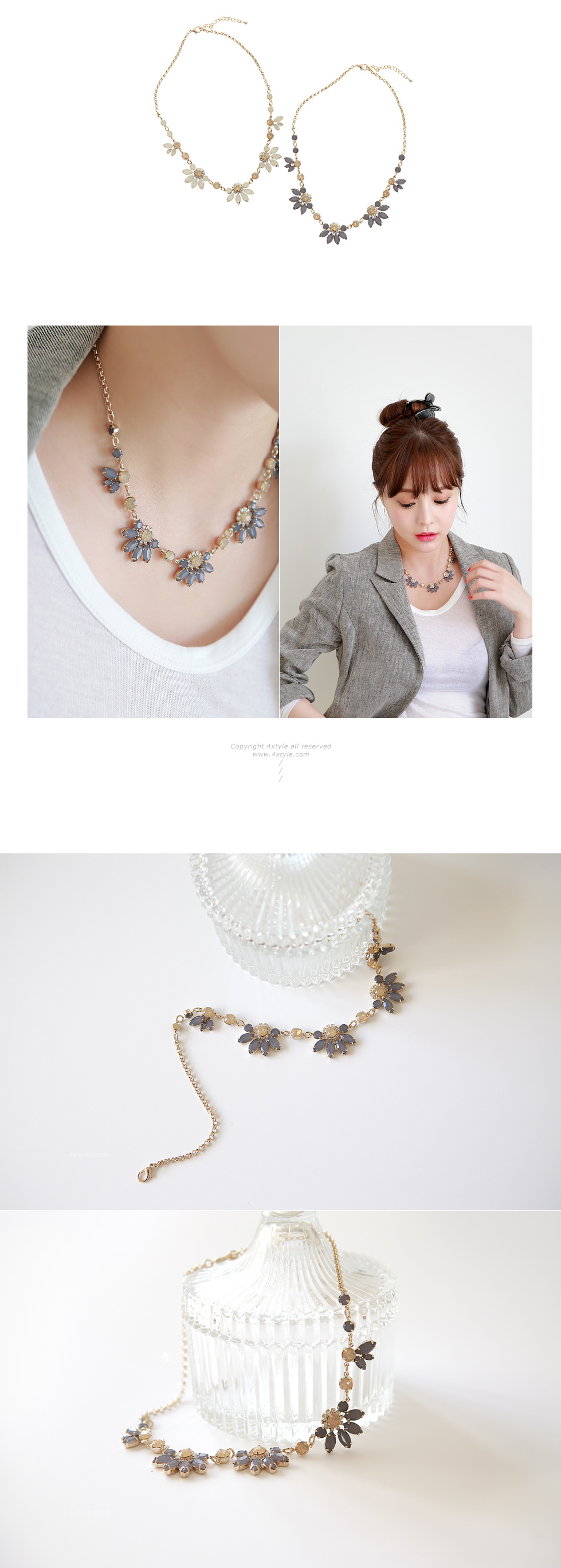 [ 4xtyle ] Porreta Necklace, 2 Colors