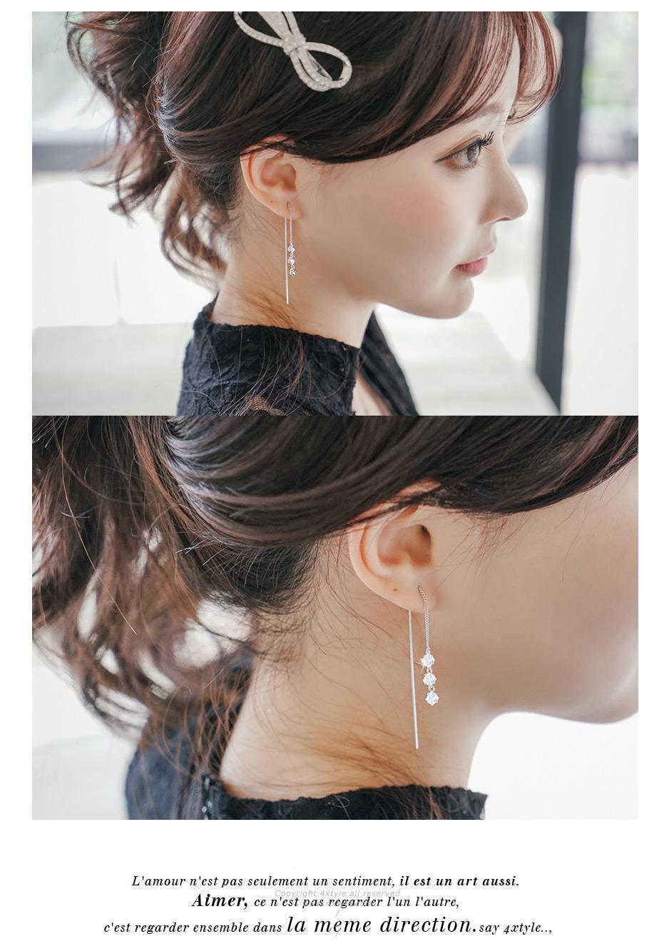 [ 4xtyle ] 达芬奇Lux的银项链,2色