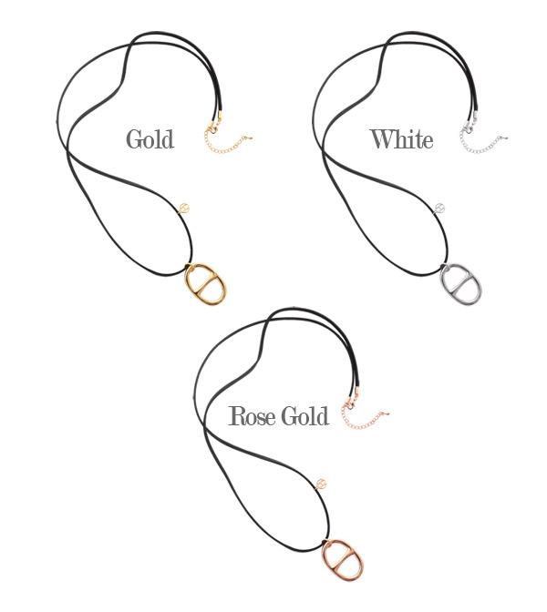 [ 4xtyle ] 柏长项链,3色
