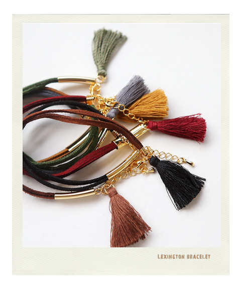 [ 4xtyle ] Nove Tassel Necklace, 6 Colors