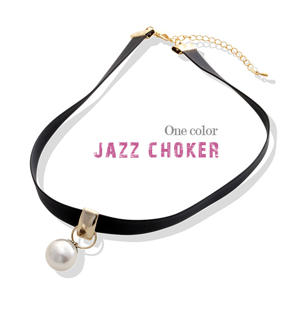 [ 4xtyle ] Jazz Choker Necklace, One Color