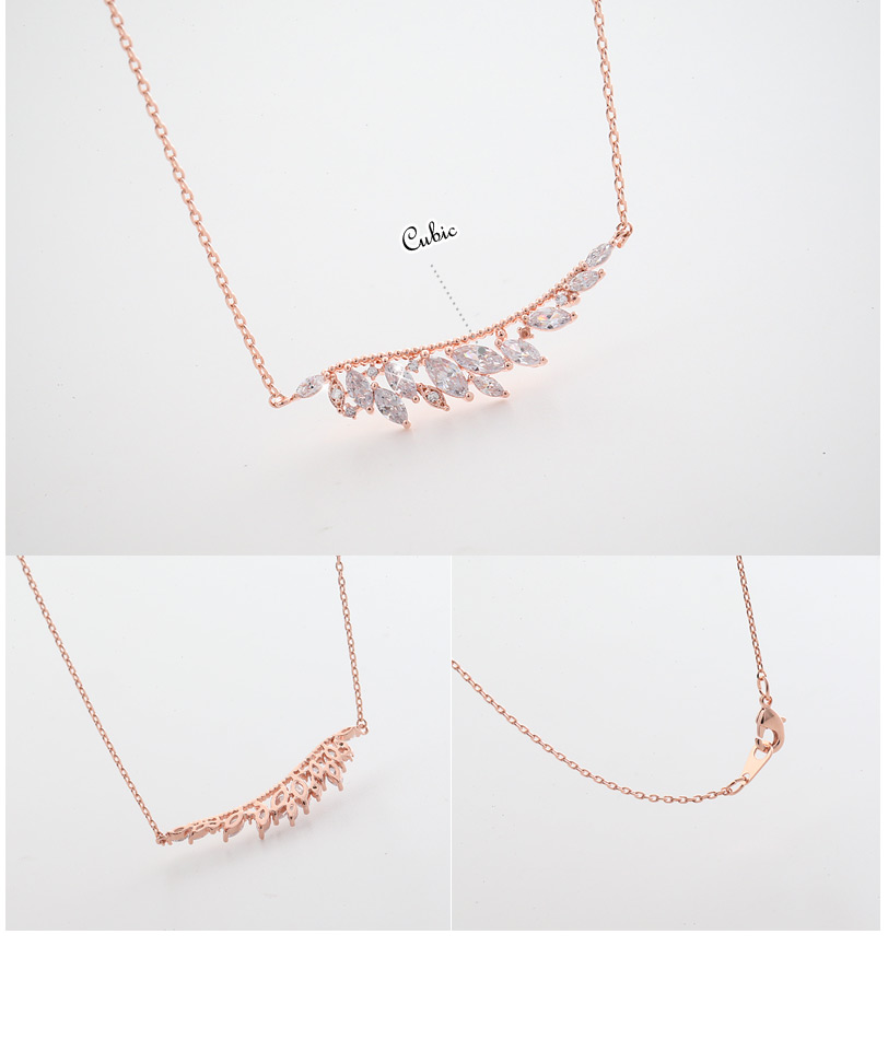 [ 4xtyle ] FRANCIA WING NECKLACE (WHITEGOLD)