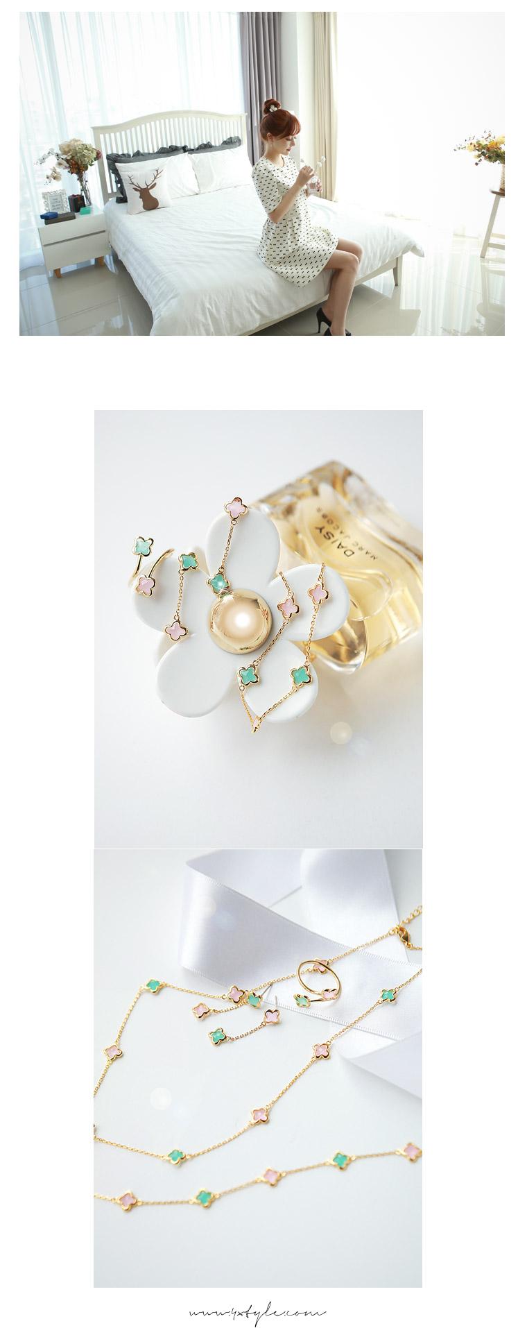 [ 4xtyle ] 妇女柔和的花环,一种颜色
