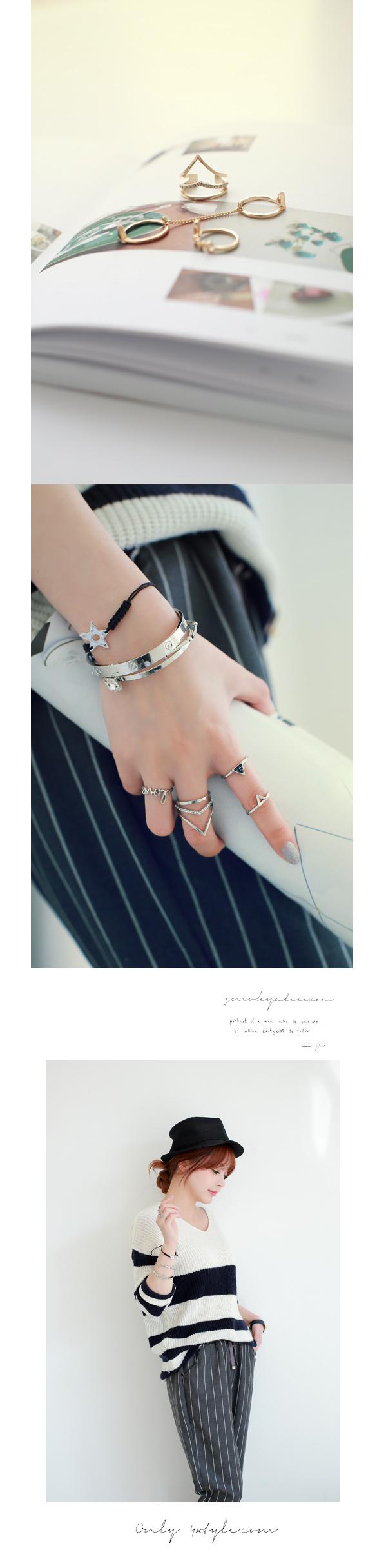 [ 4xtyle ] Women Joffrey Ring, 2 Colors