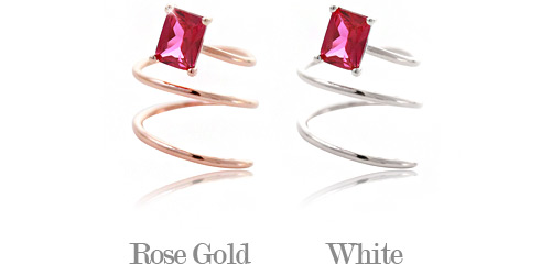 [ 4xtyle ] Red Wine Ring, 2 Colors