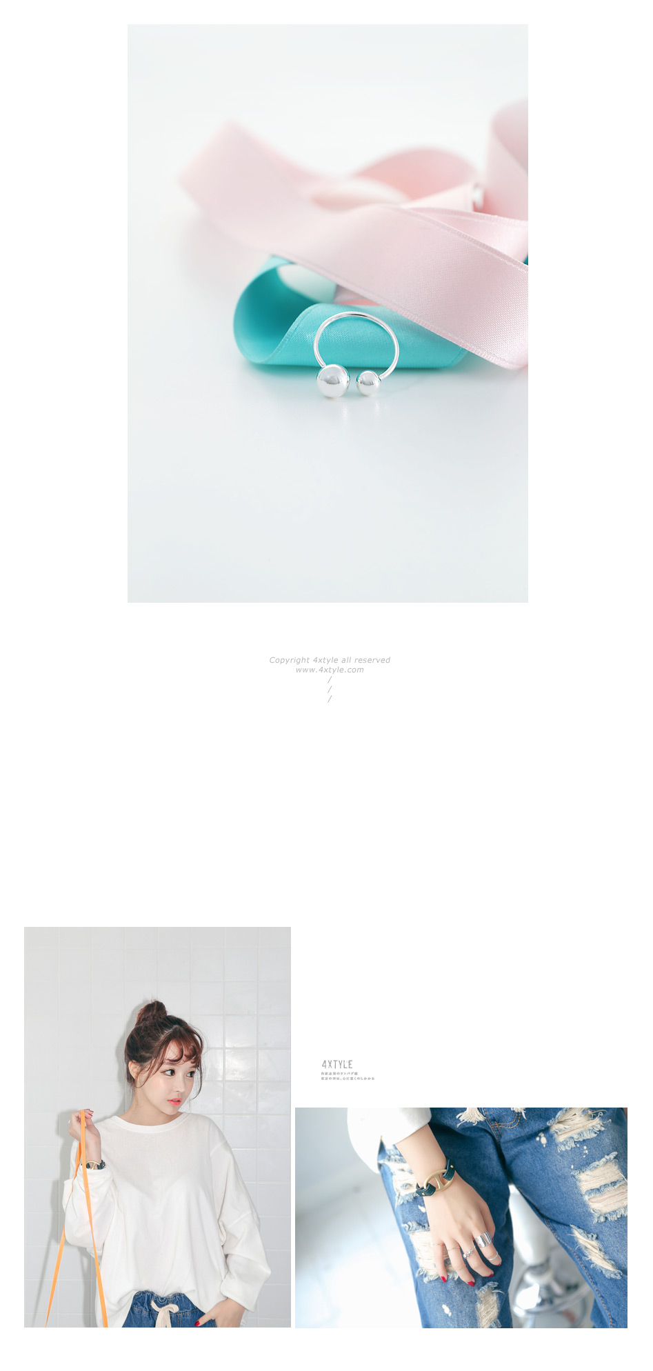 [ 4xtyle ] 塔罗牌的银环,一种颜色