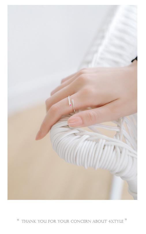 [ 4xtyle ] 城市迷你立方银环、3种颜色