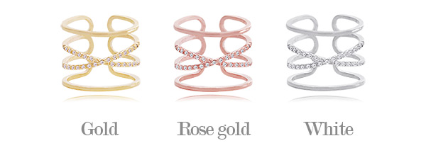 [ 4xtyle ] Ruisa Ring, 3 Colors
