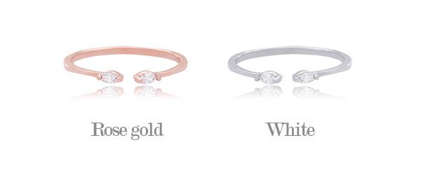 [ 4xtyle ] Ael双立方银环、2种颜色