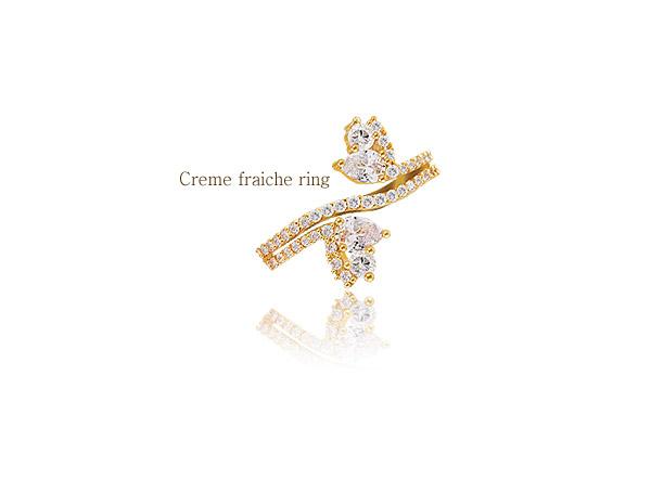 [ 4xtyle ] CR?E FRAICHE RING