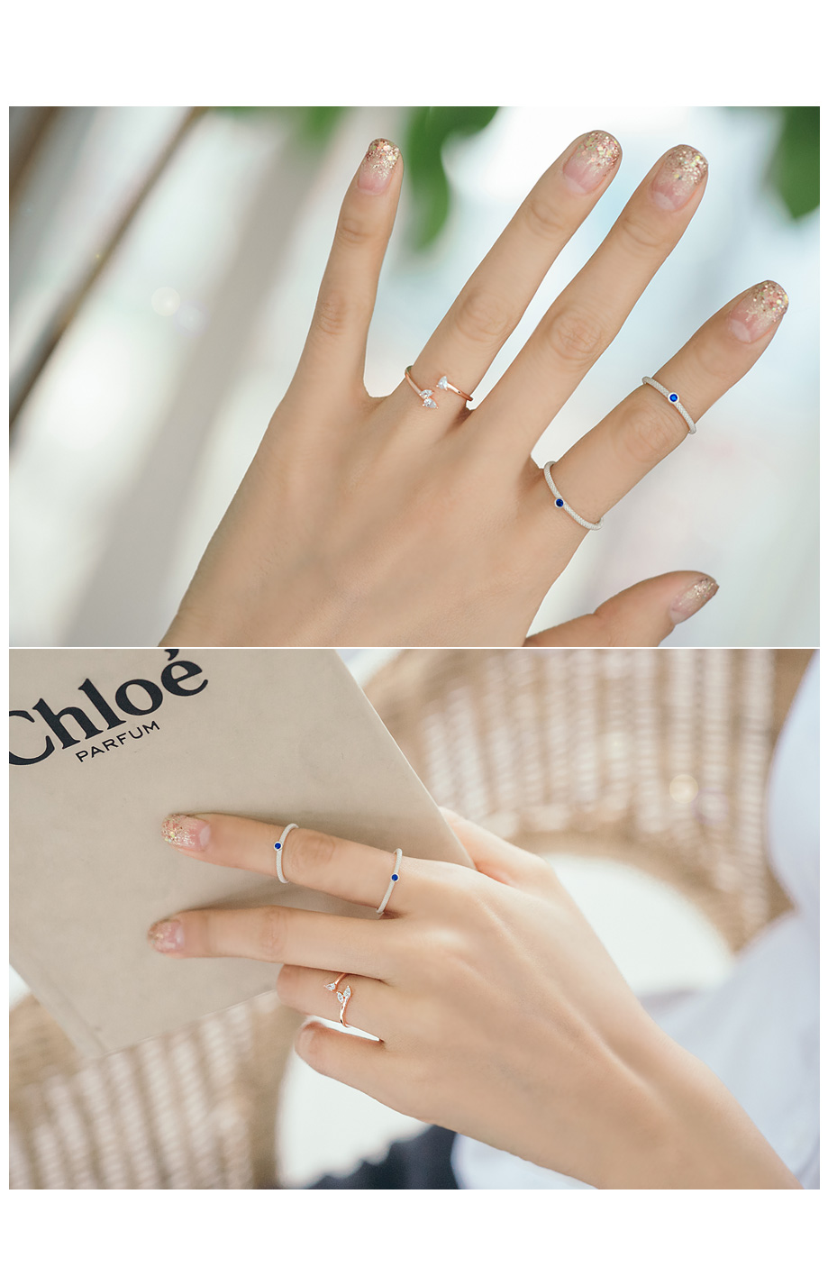 [ 4xtyle ] [SILVER] SUNKIST RING