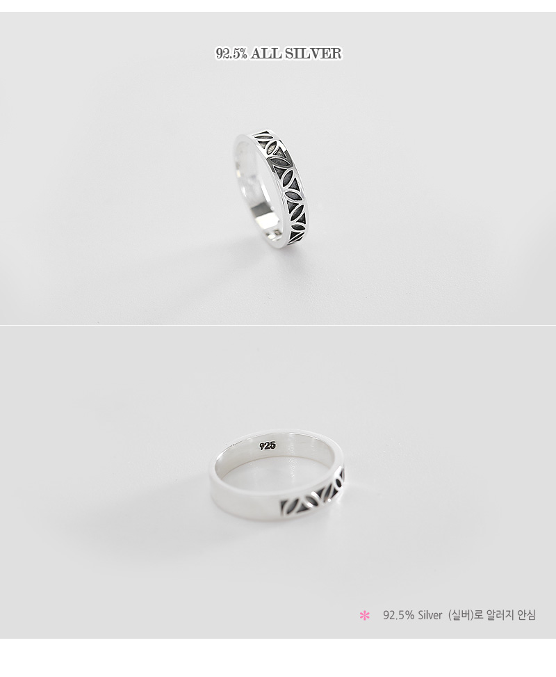 [ 4xtyle ] [SILVER] FORESEE RING
