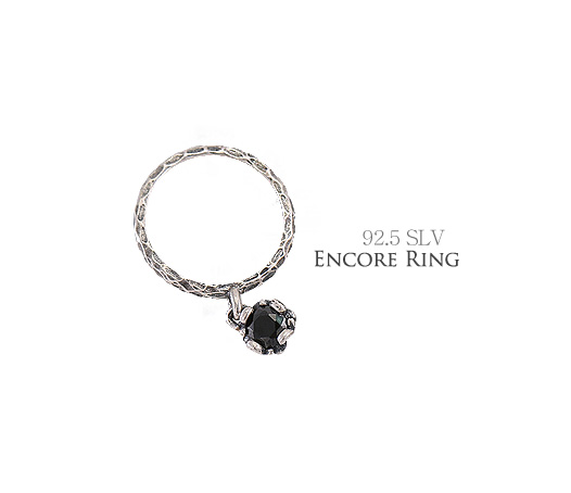 [ 4xtyle ] [silver] encore ring