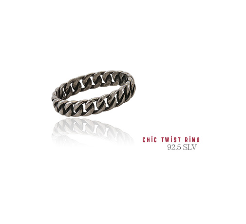[ 4xtyle ] [SILVER] Antique Skull Bracelet