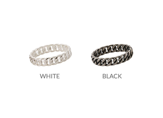 [ 4xtyle ] [SILVER] Chic Twist Ring