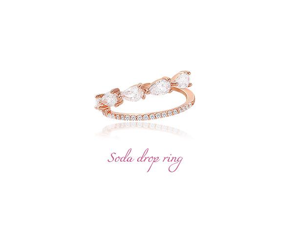 [ 4xtyle ] Soda Drop Ring