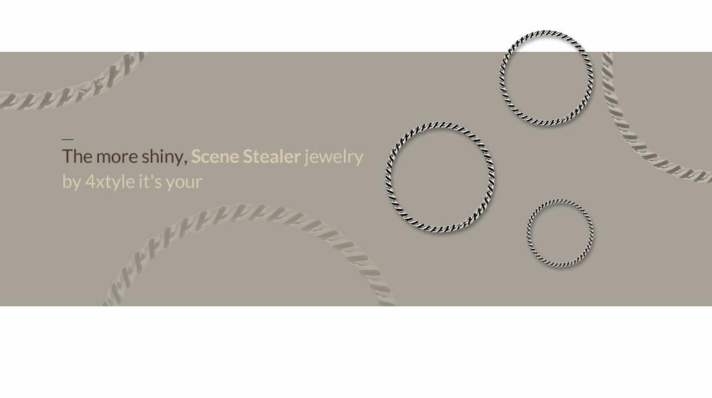 [실버] 엔틱 베이직 꼬임 반지 - 폭스타일, 6,500원, 실버, 실반지