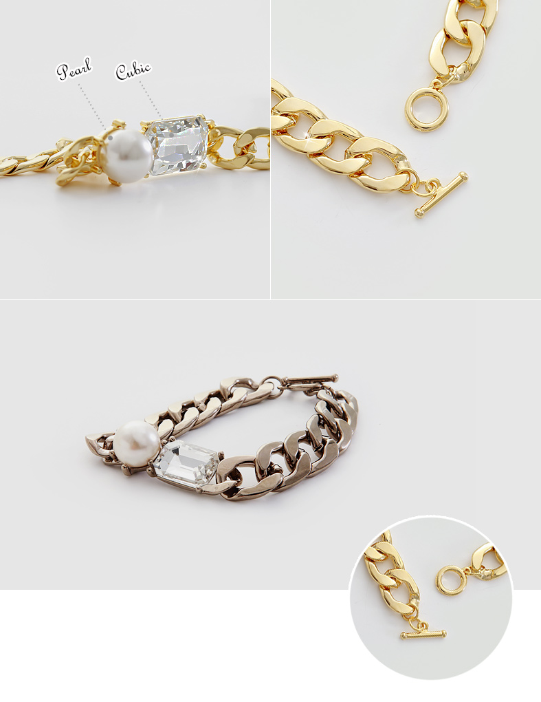 [ 4xtyle ] RUSTER BOLD CHAIN SET