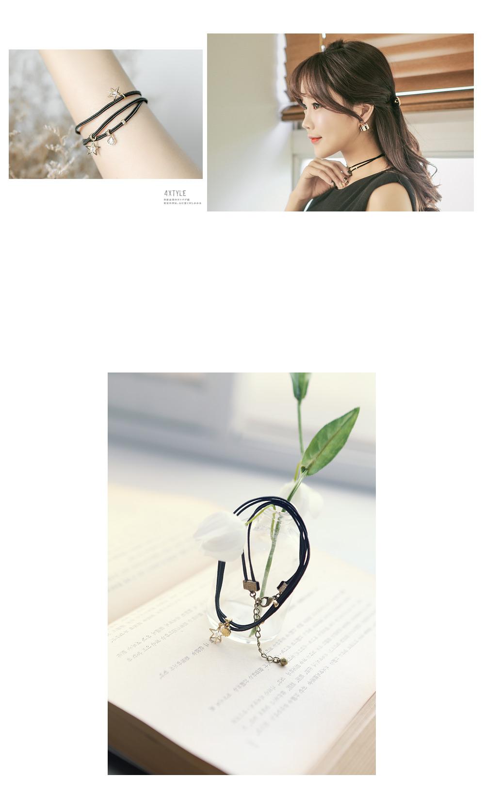 아쿠아 초커 세트 - 폭스타일, 14,000원, 주얼리세트, 패션세트