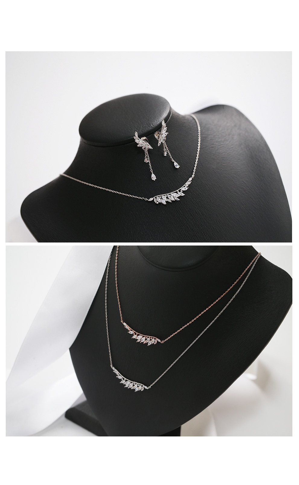 [ 4xtyle ] [SILVER] FRANCIA WING SET (ROSEGOLD)
