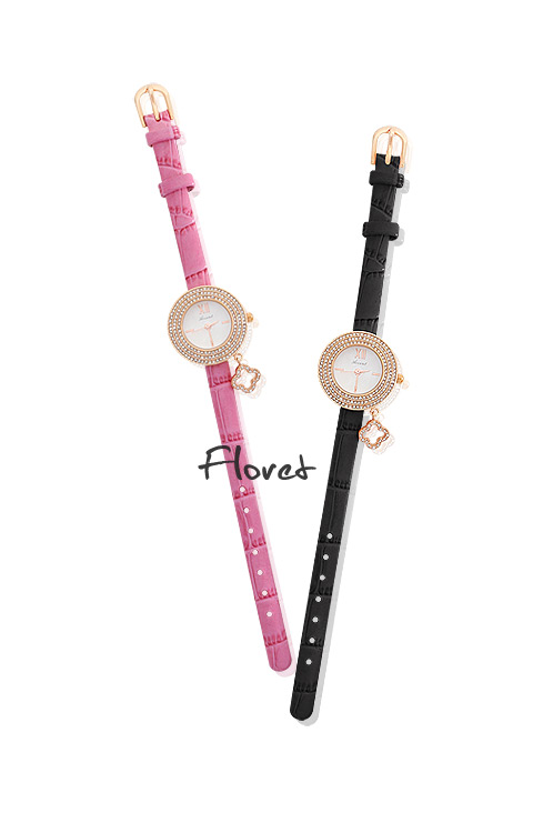 [ 4xtyle ] FLORET LEATHER WATCH