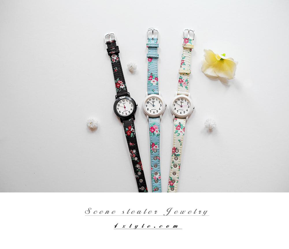[ 4xtyle ] [CASIO] ROMANCE FLOWER WATCH